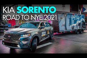 KIA Sorento Road to NYE 2021. Gracias a todos los trabajadores de primera linea