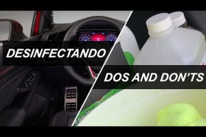 Contra el COVID19, desinfecta los puntos clave de tu auto
