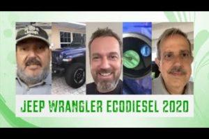 Jeep Wrangler EcoDiesel 2020, se lo traemos por videoconferencia